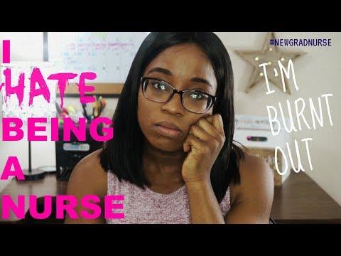 I HATE BEING A NURSE *Nurse's Burnout* II JustChi
