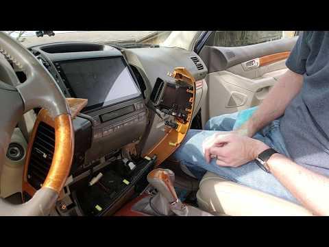 Lexus GX470 Radio U0026 Climate Control Removal
