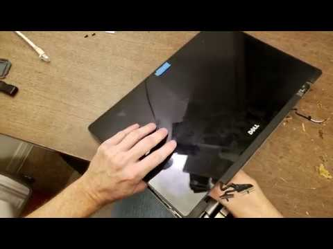 Dell Inspiron 15-7000 series touch screen top lid replacement