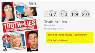 Truth or Lies Wii Countdown