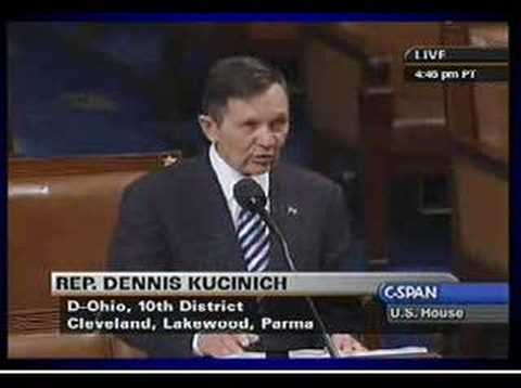 Kucinich: Articles of Impeachment 5.