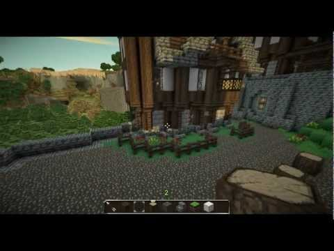 minecraft tutorial mittelalter stadt let 39 s build this city