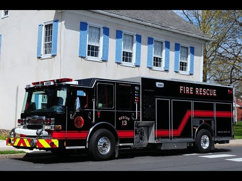 Hellertown Fire - Engine / Rescue 1311 - MVA Cab Response