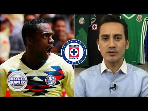 RENATO IBARRA 'Cruz Azul ya está sondeando su posible fichaje': Del Valle | Jorge Ramos y Su Banda