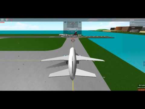 Roblox, A Place with Airliners: White Airways A310