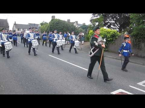 Brookeborough Flute Band @ Brookeborough 2013.