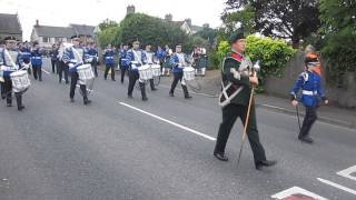 Brookeborough Flute Band @ Brookeborough 2013.