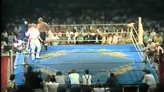 Catchen/Wrestling CWA HW Titel Otto Wanz vs Bull Power Graz 11.07.87 T1