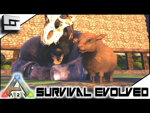 ARK: Survival Evolved - BABY OVIS BREEDING! S4E57 ( The Center Map Gameplay )