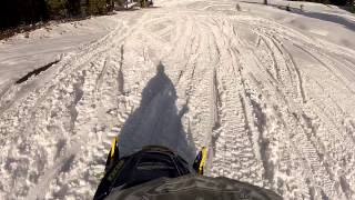 Snowmobiling Iron Mountain, California Amador County Sierra Nevadas - Part 7