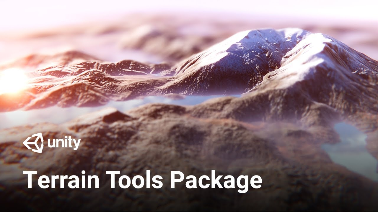 Build Beautiful Terrains with Unity 2019! – New Terrain Tools Package