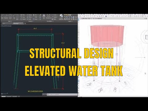 Elevated Water Tank Design In Etabs And Detailing
