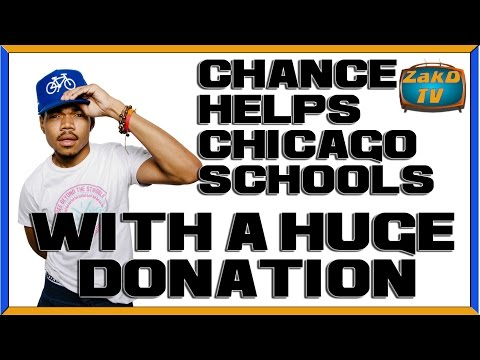 CHANCE THE DONOR,  Rapper decides to give back in a big way. Better Battery, New Volkswagen, THAAD