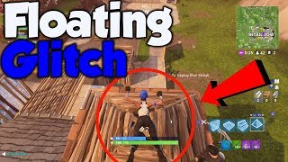 Fortnite FLOATING GLITCH! - Fortnite Battle Royale Glitch!
