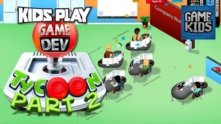 Game Dev Gameplay With Burnie And JD Part 2 - Kids Play