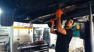 Тюнинг выхлопа Subaru EZ30 Exhaust sys. tuned by OR FAB (+Raptor & STI Gen)