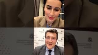 Прямой эфир. Тина Канделаки и Глеб Сергеевич Никитин