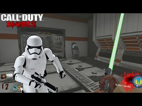 STAR WARS THE EVIL EMPIRE CUSTOM ZOMBIES EASTER EGG CON DARTH VADER | BLACK OPS 3 ZOMBIES MOD TOOLS