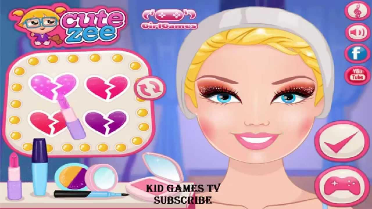 barbie makeup games for girls ken leaves barbie games for kids