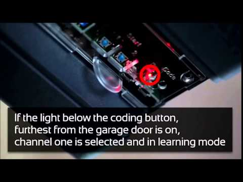 Programming A Sommer Remote Control To A Marathon Garage Door System