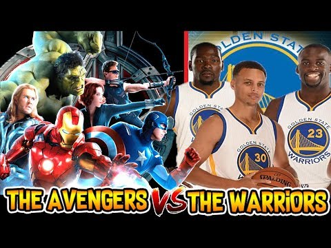 The Avengers vs The Golden State Warriors! NBA Playoffs Series Simulator