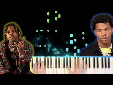 Finesse Out The Gang Way Piano- Lil Durk feat. Lil Baby (Piano Tutorial)