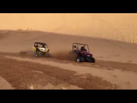 YXZ Side Hilling with the T-Rex
