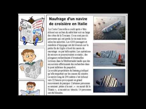 Francais 3am Projet 1 Sequence 1 Naufrage D Un Navire De