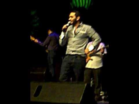 Tamer hosny concert in denmark ( ana wala 3aref)