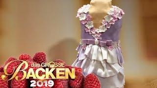 XXL-Prinzessin-Kleid-Kuchen: Was ist das schönste Kleid | Verkostung | Das große Backen 2019 | SAT.1