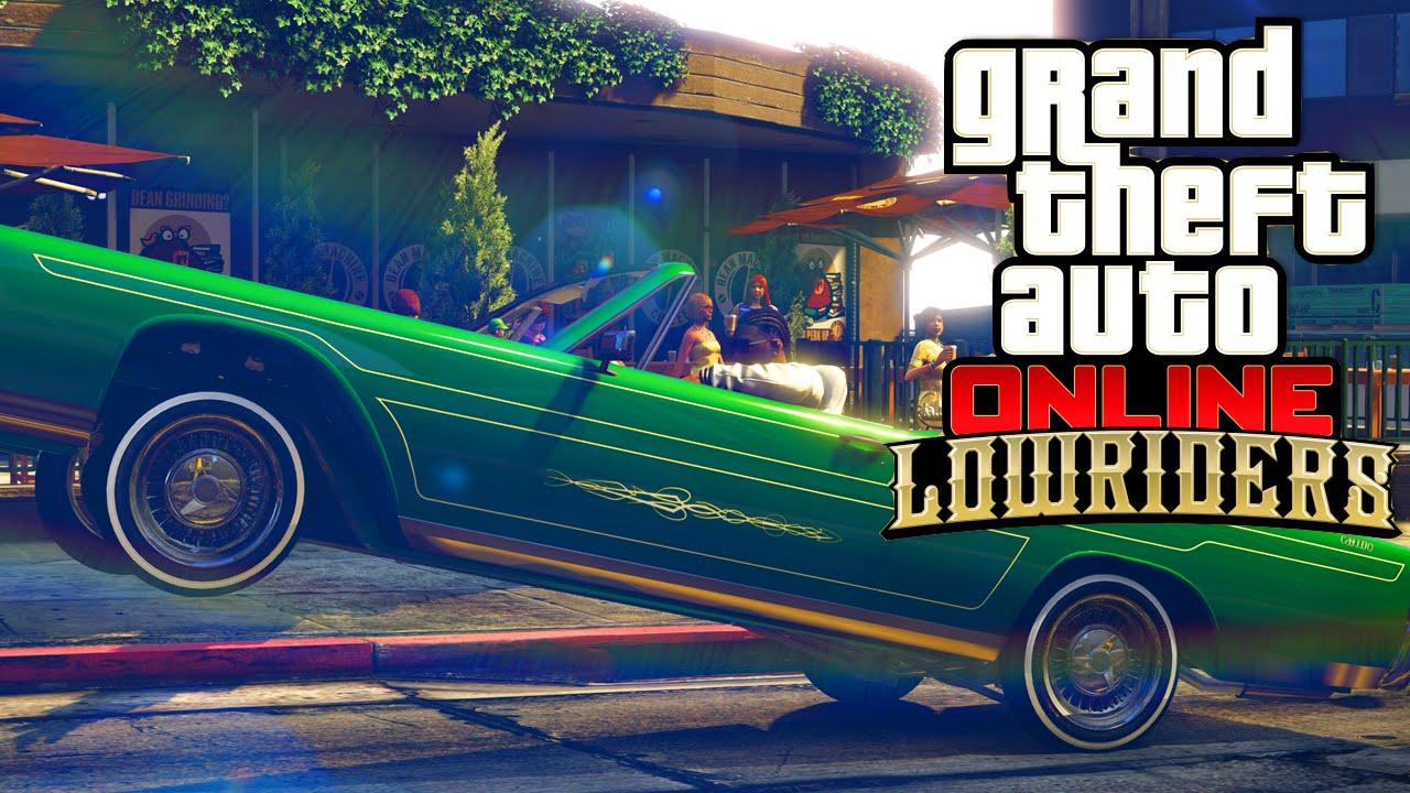 GTA 5  NIEUWE LOWRIDERS DLC Grand Theft Auto Update YouTube
