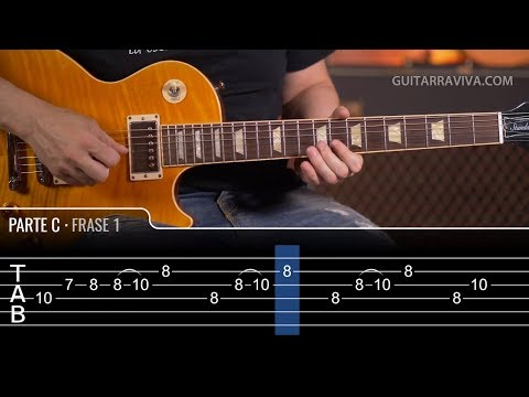 EUROPA by Carlos Santana Guitar Lesson with tabs