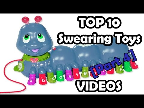 TOP 10 kids toys that SWEAR part 4 (Top 10 SWEARING childrens play toys V-tech, Leap frog and Barbie