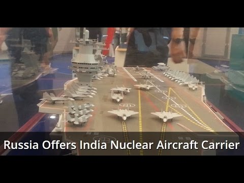 Russian 'Shtorm' Top Candidate To Be India's New Nuclear Carrier