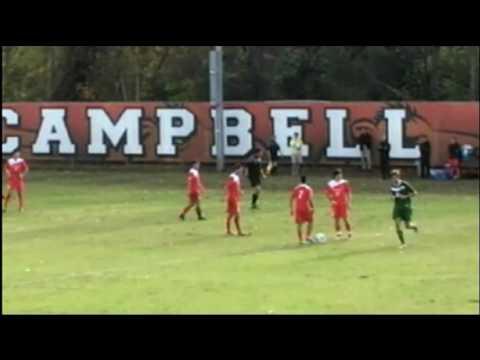 Jacksonville vs. Campbell - A-Sun Tournament Finale 2008. Part 1/4.