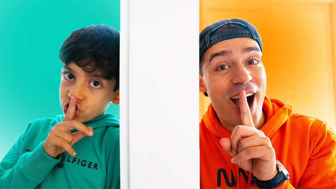 Download Jason and Alex play hide and seek in the house