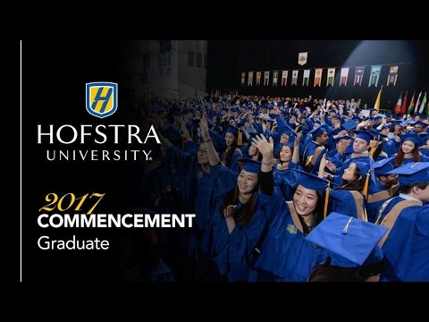 2017 Graduate Commencement - Hofstra University