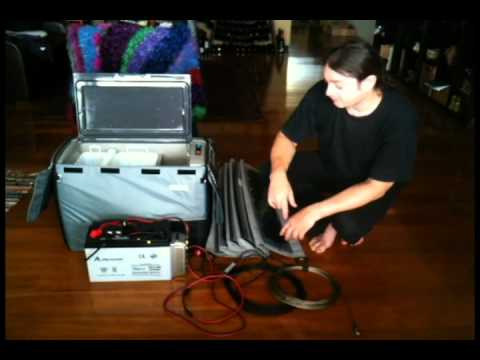 7 Pin Trailer Wiring Diagram Australia 2001 Ford Explorer Radio Portable Fridge Dual Battery Setup Youtube
