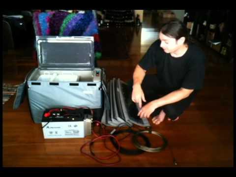 Portable Fridge & dual Battery Setup
