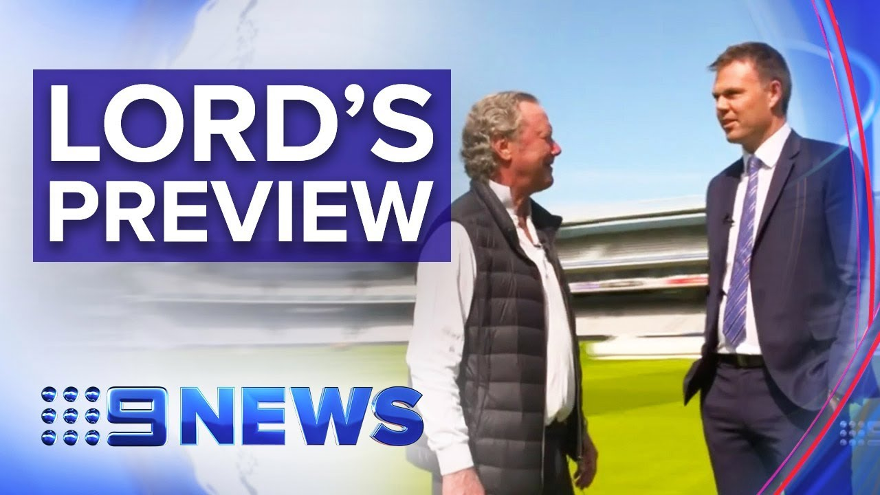 Australian cricketers keen to get going at Lord's | Nine News Australia