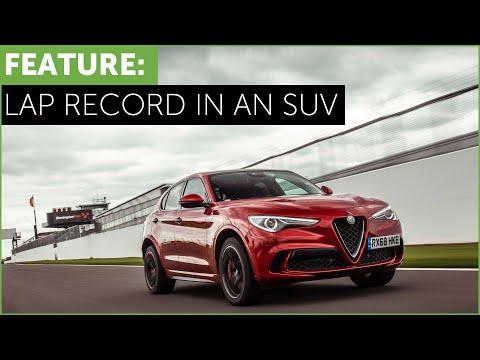 Alfa Romeo Stelvio Quadrifoglio on track review, including Lap Record Brands Hatch. 4K