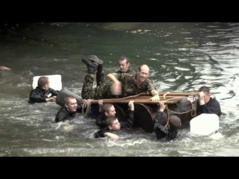 The Royal Navy: Distex training at HMS Raleigh