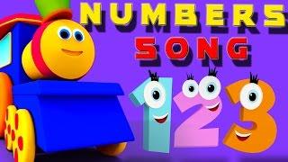 Bob , le train | Numéro de la chanson française avec un train de bob | des chansons pour enfants