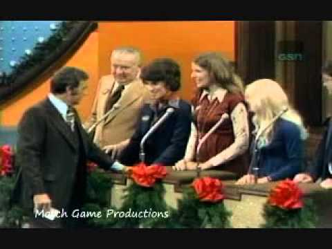 Family Feud Christmas 1977 Richard Dawson