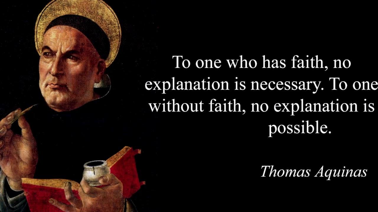 نتيجة بحث الصور عن القديس توما الأكوينى