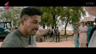 Allu Arjun best fight scene
