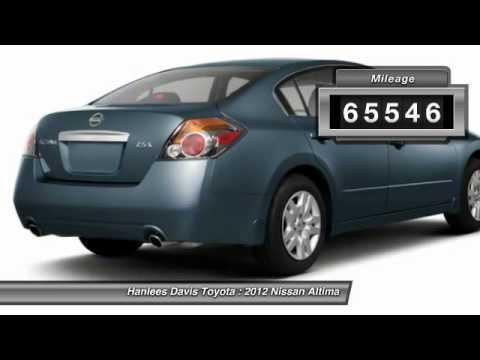 2012 Nissan Altima Davis CA 1N4AL2AP3CN544590
