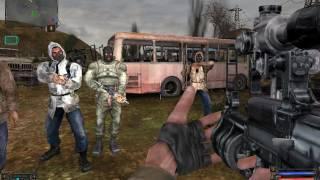 S.T.A.L.K.E.R c модом новая война и повелитель зоны