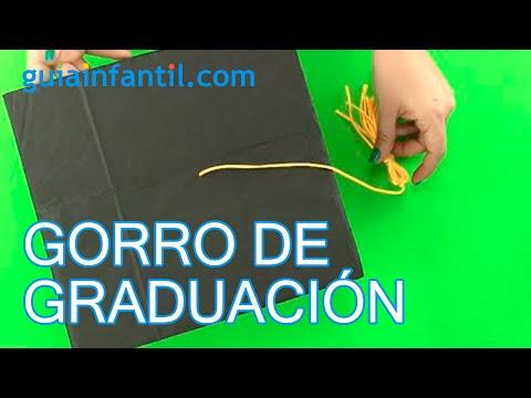 Cómo hacer un birrete o gorro de graduación paso a paso - YouTube 43775044608
