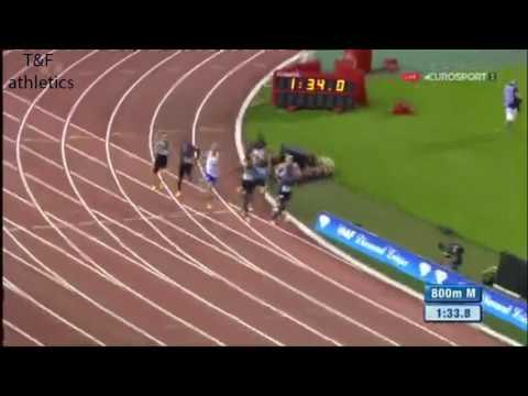 Adam KSZCZOT wins 800m - Brussels Diamond League 2016